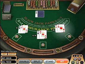 Casino Room - Blackjack