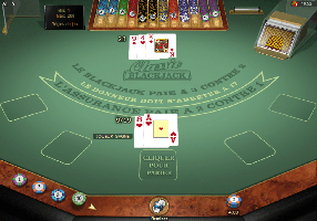 Lucky Nugget - blackjack table