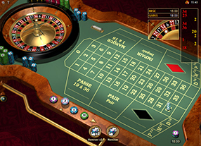Mummys Gold - roulette table