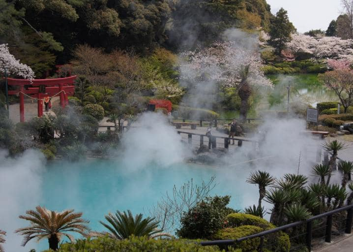 The Beppu Hot Spring Festival Things to do in Japan in April
