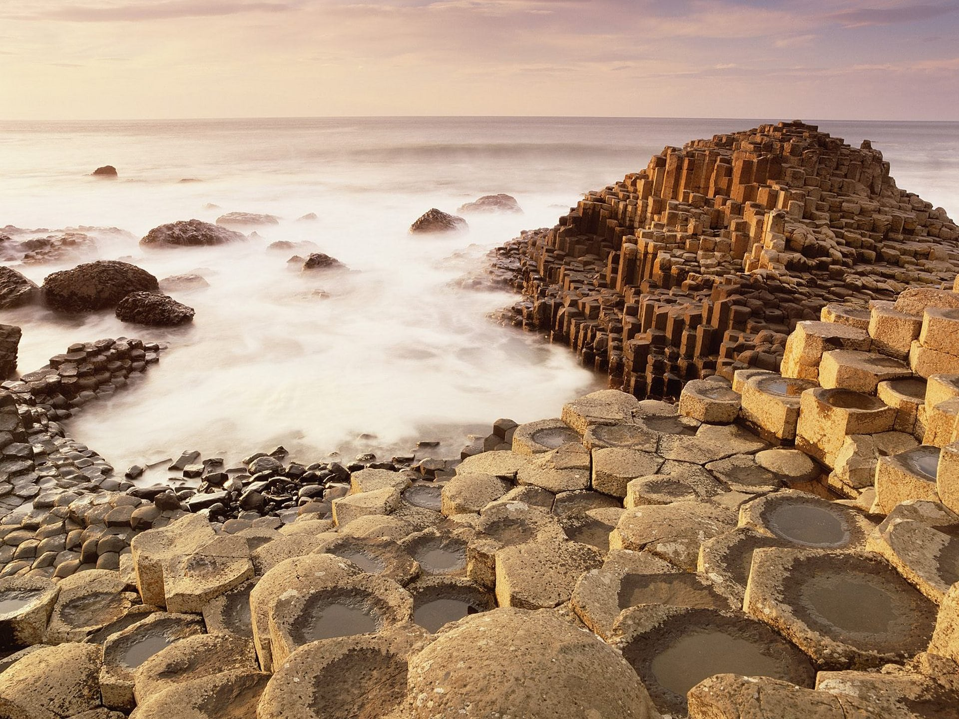 Visiting the mystical columns of Giant's Causeway is one of the best things to do in Ireland