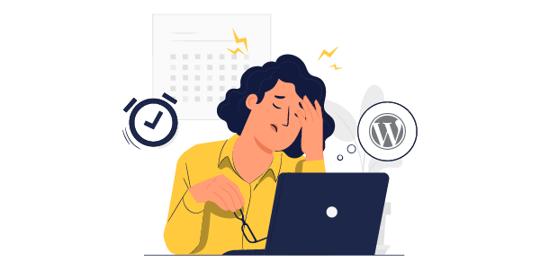 Illustration: WordPress speed issues