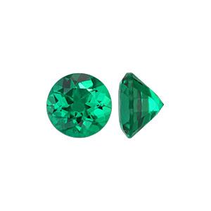 Lab Grown Emerald Stone - Item LGER3