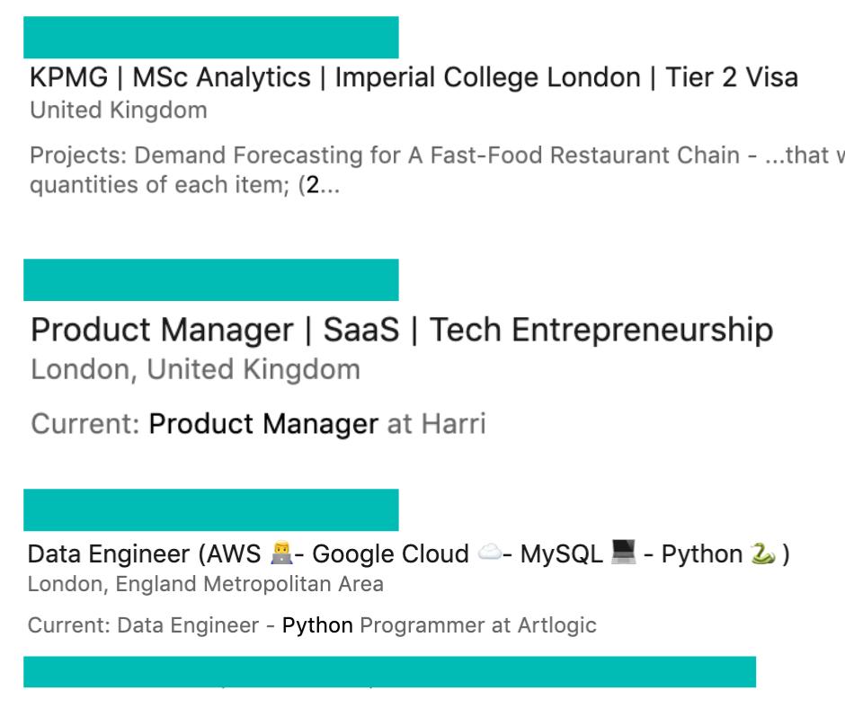 Examples of nice LinkedIn Headlines