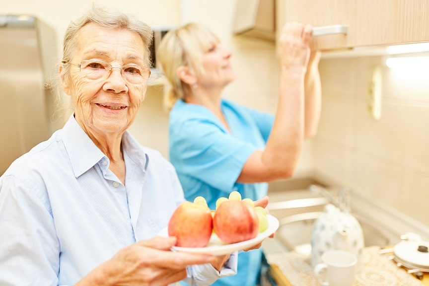 food safety for elderly - in the home care and in senior long term care facilities