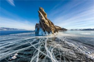 Ogoy island in Russia
