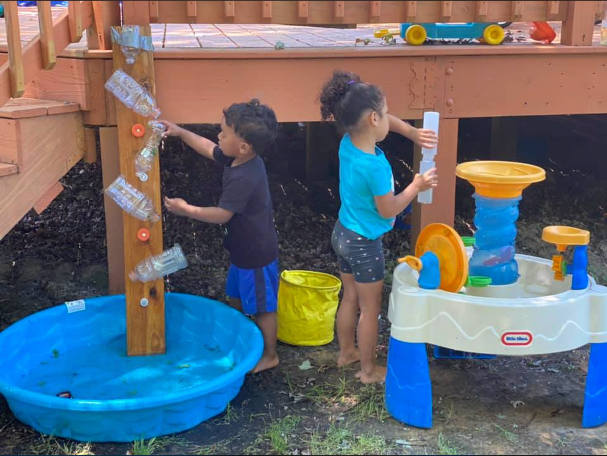 Tinkergarten kids water center
