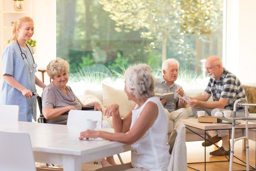 retirement community - continuum of care - senior care options