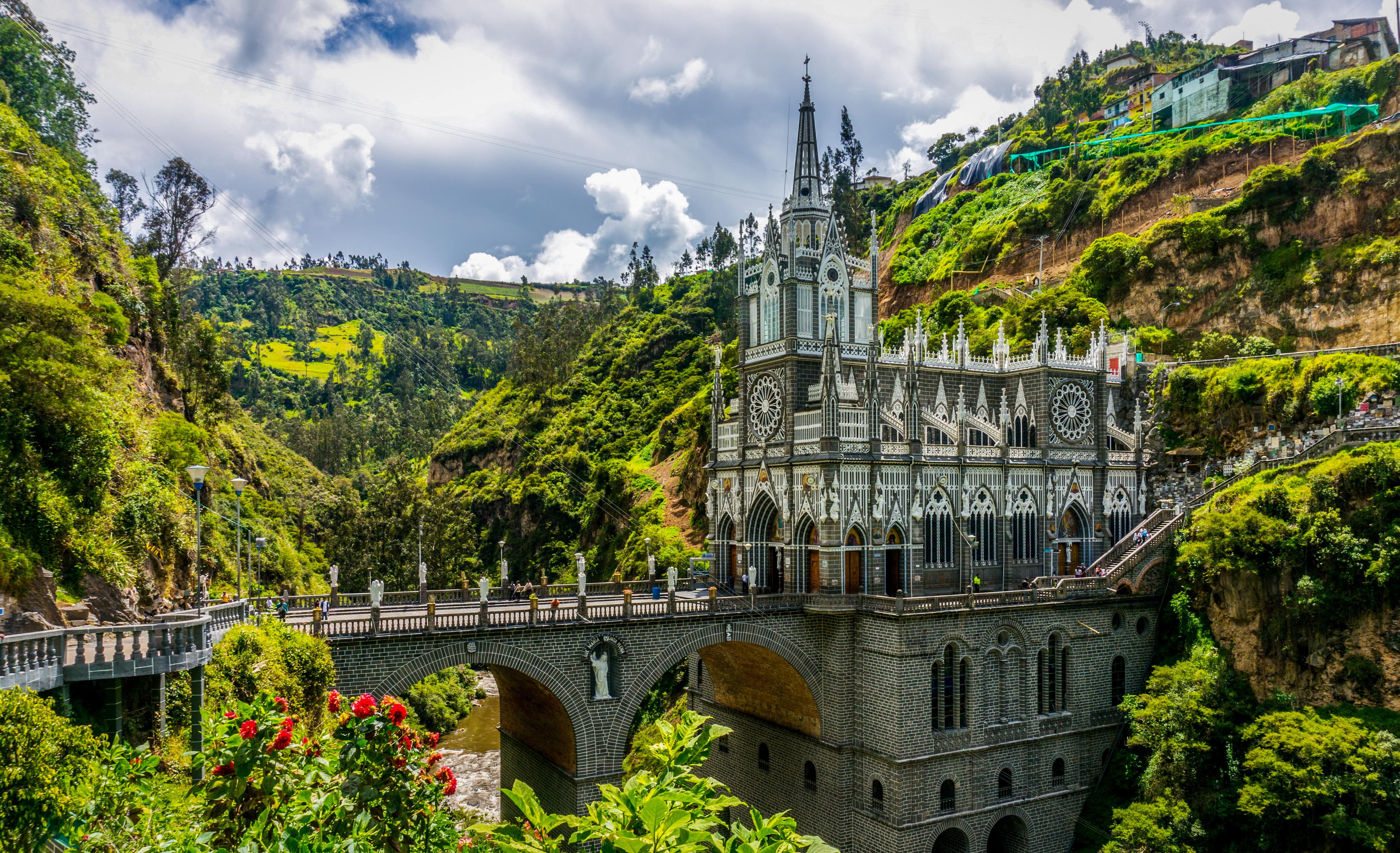 Las Lajas Sanctuary things to do in Colombia