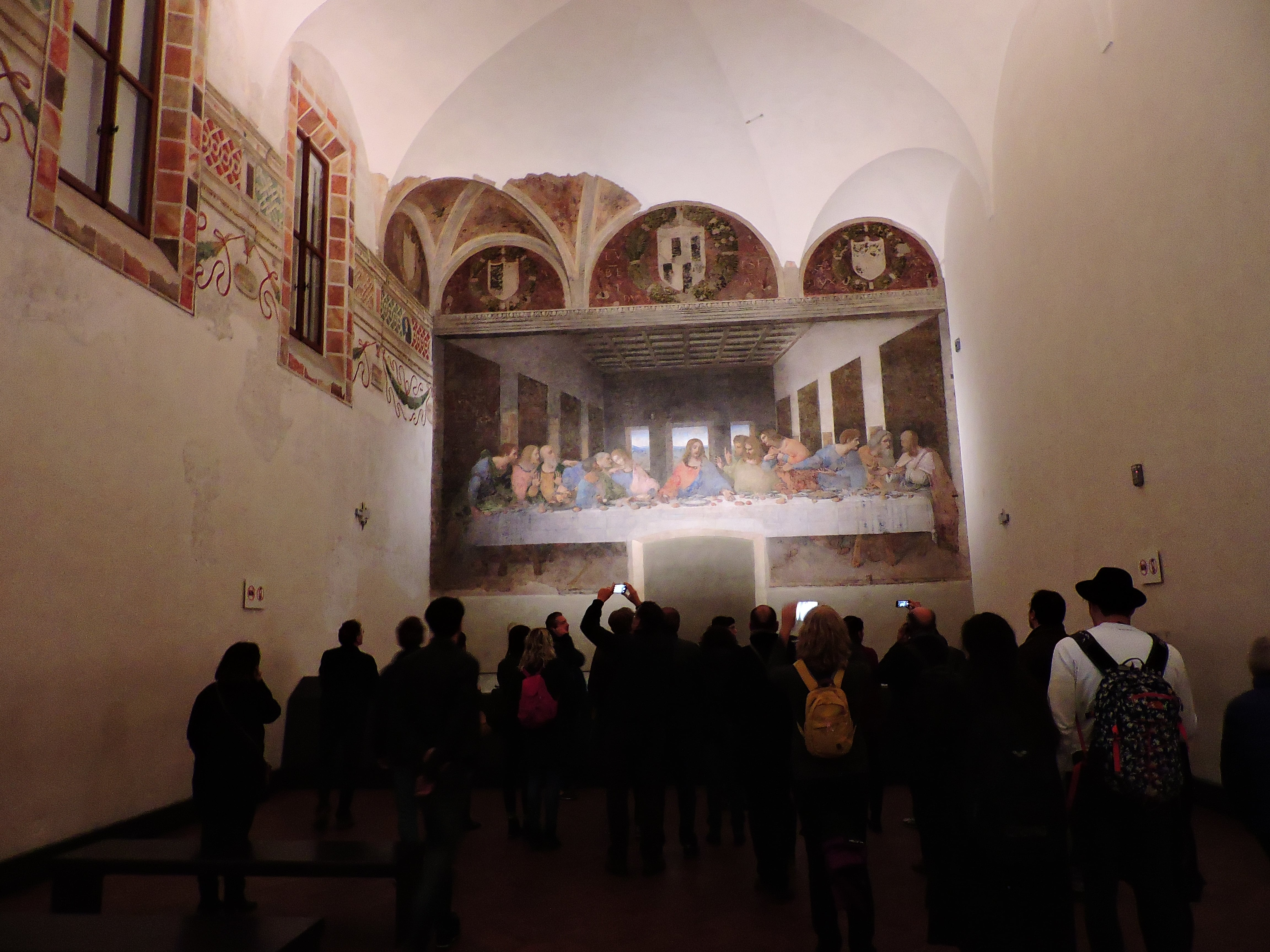 Seeing the famous Last Supper painting in Milan is a cool thing to do in Italy
