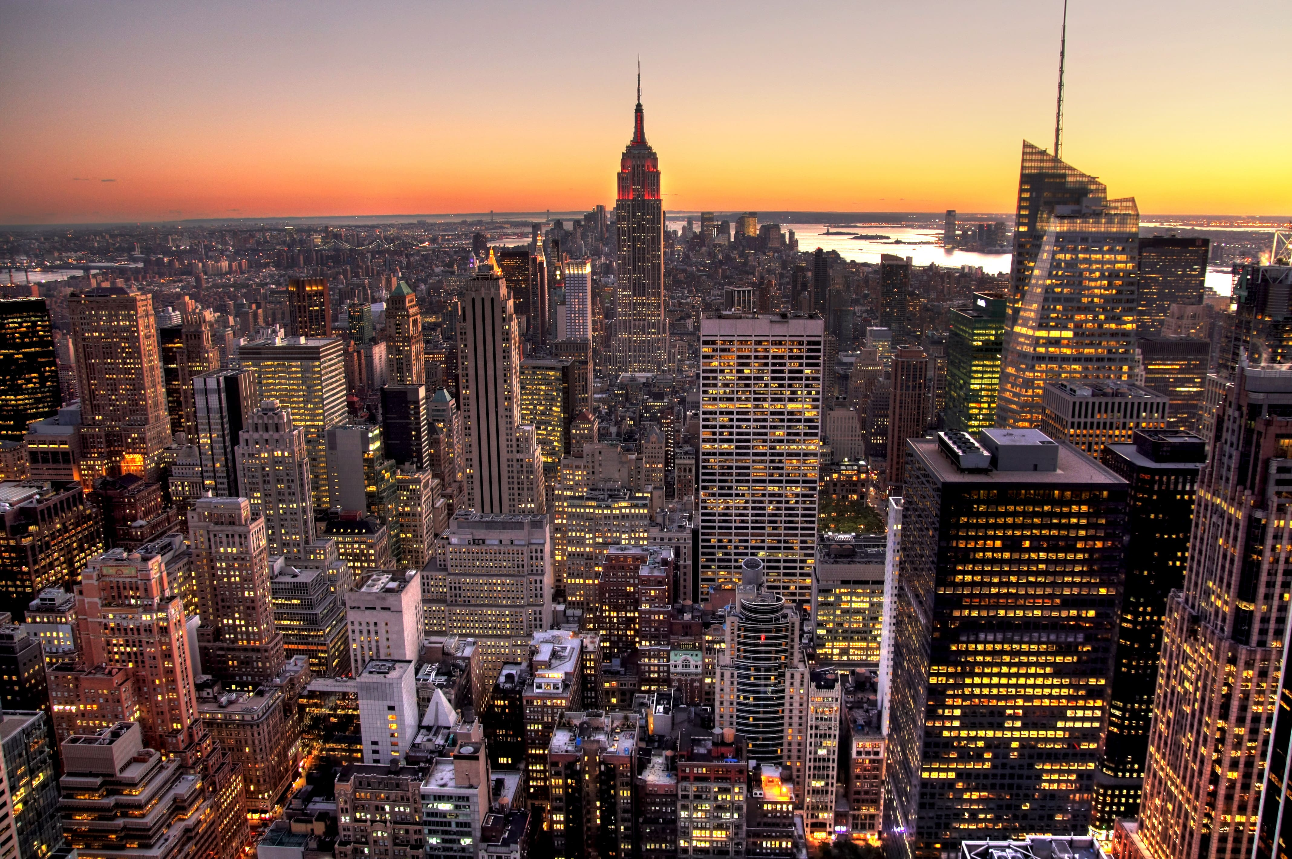 The Top of the Rock is a great place to visit in New York City for stunning views