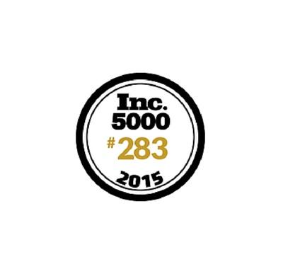 Scripted Ranks 283 On The 2015 Inc. 500 List