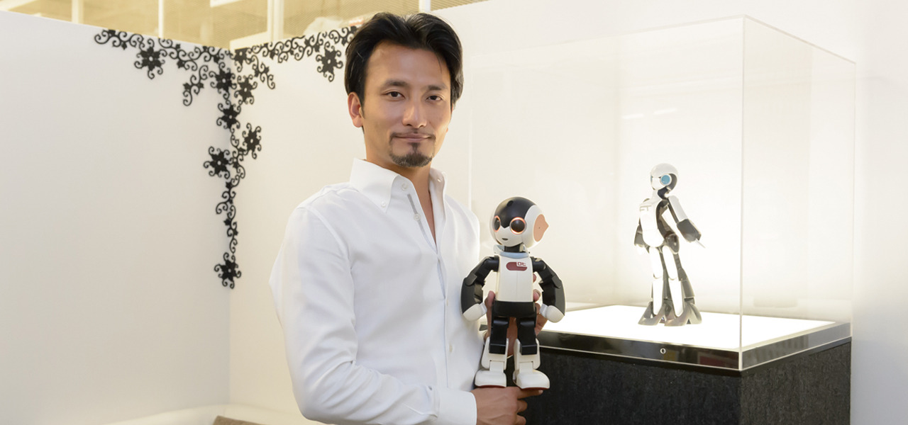 株式会社ロボ・ガレージ 高橋智隆 一人一台、ロボットと暮らす未来を創る!