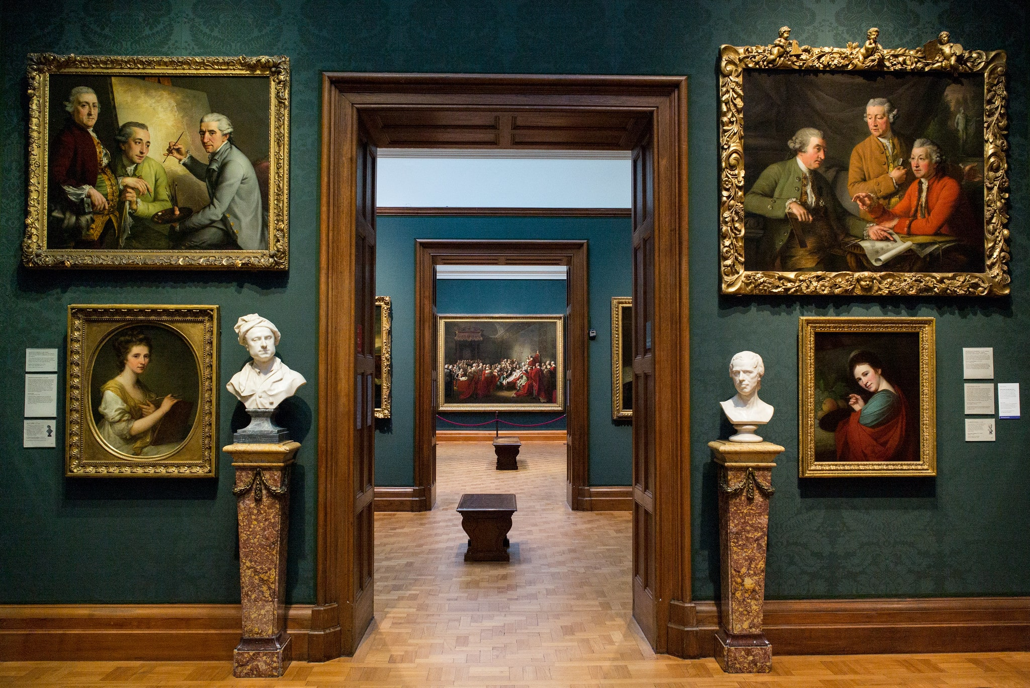 The National Portrait gallery is an artsy and historical place to visit in London