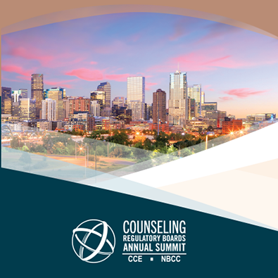2021 Counseling Regulatory Boards Summit: Protecting the Public. Propelling the Profession.