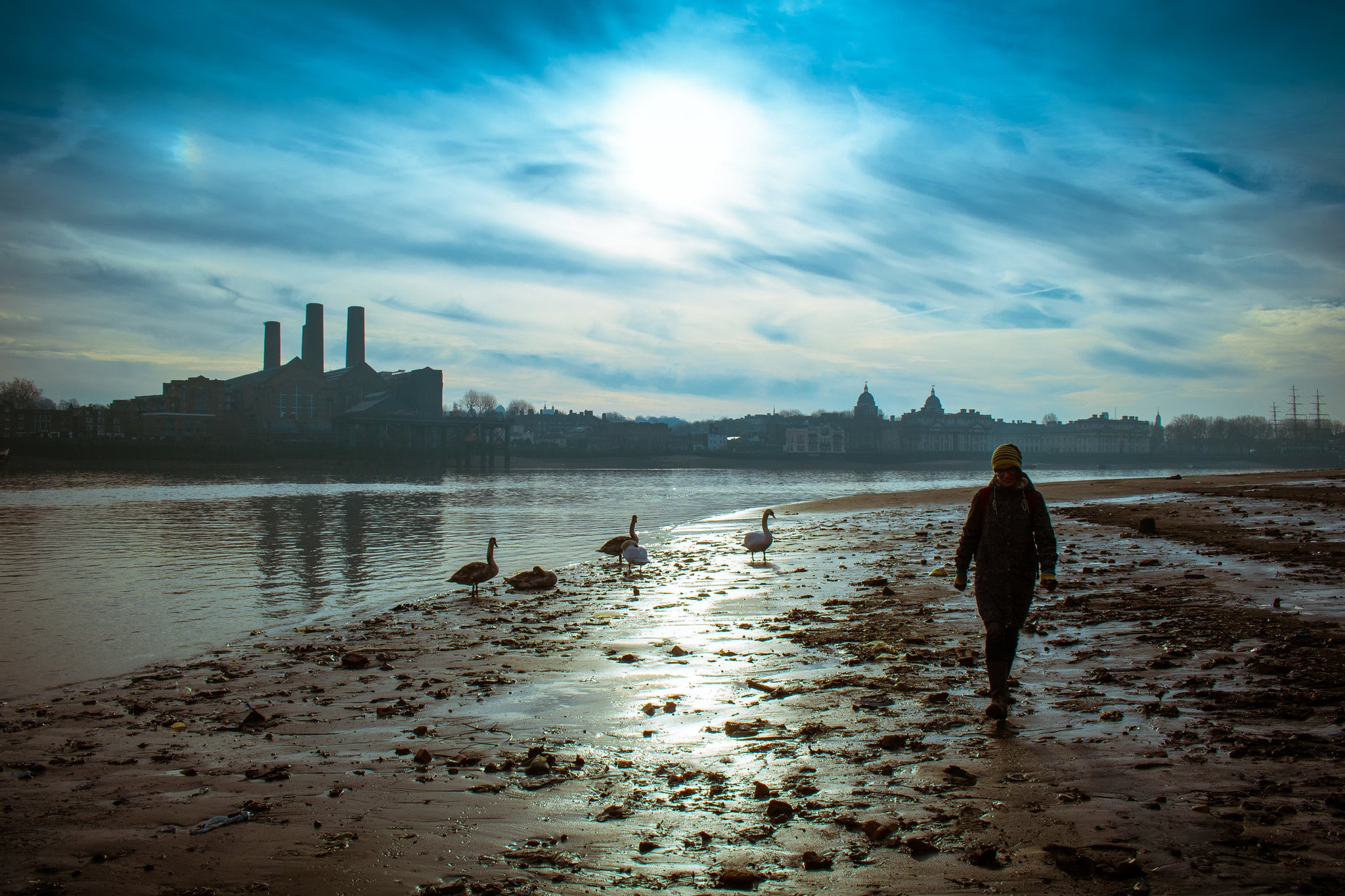 Mudlarking is a unique and cool thing to do in London