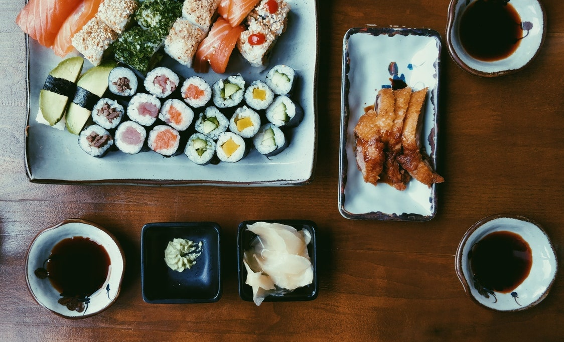 Sushi row is a delicious place to visit in LA