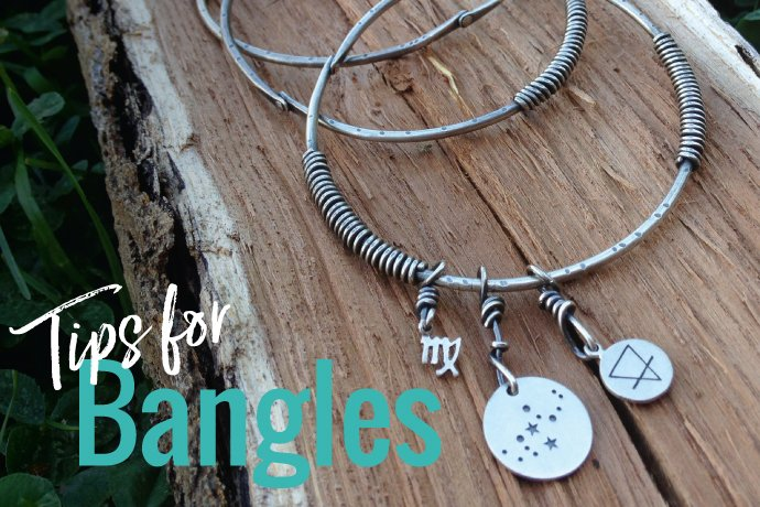 Casey Sheppard of Case of the Nomads shares bangle bracelet making tips to inspire your jewelry collection designs in this tutorial.