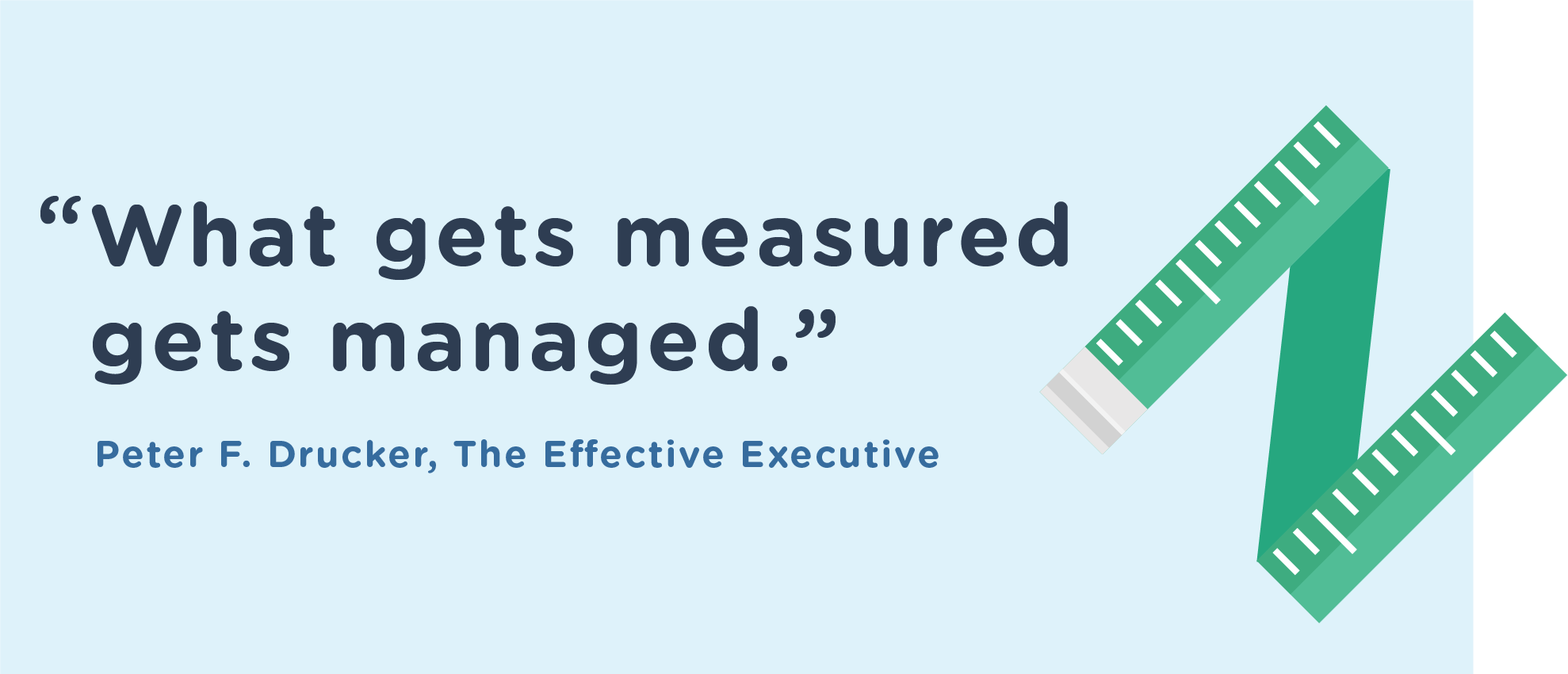 Metrics: What Gets Measured Gets Managed