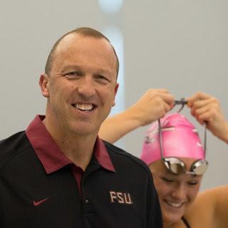 Arkansas Razorbacks head swimming coach Neil Harper