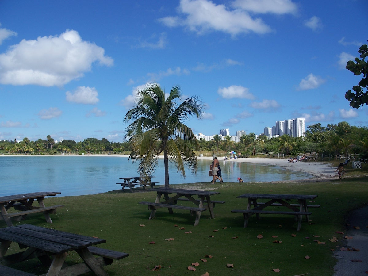 Miami may be known for fun in the sun on the sand, but its many parks are also little spots of paradise for locals.