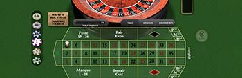 Europa Casino Premium French Roulette