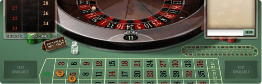 Roulette Game Interface