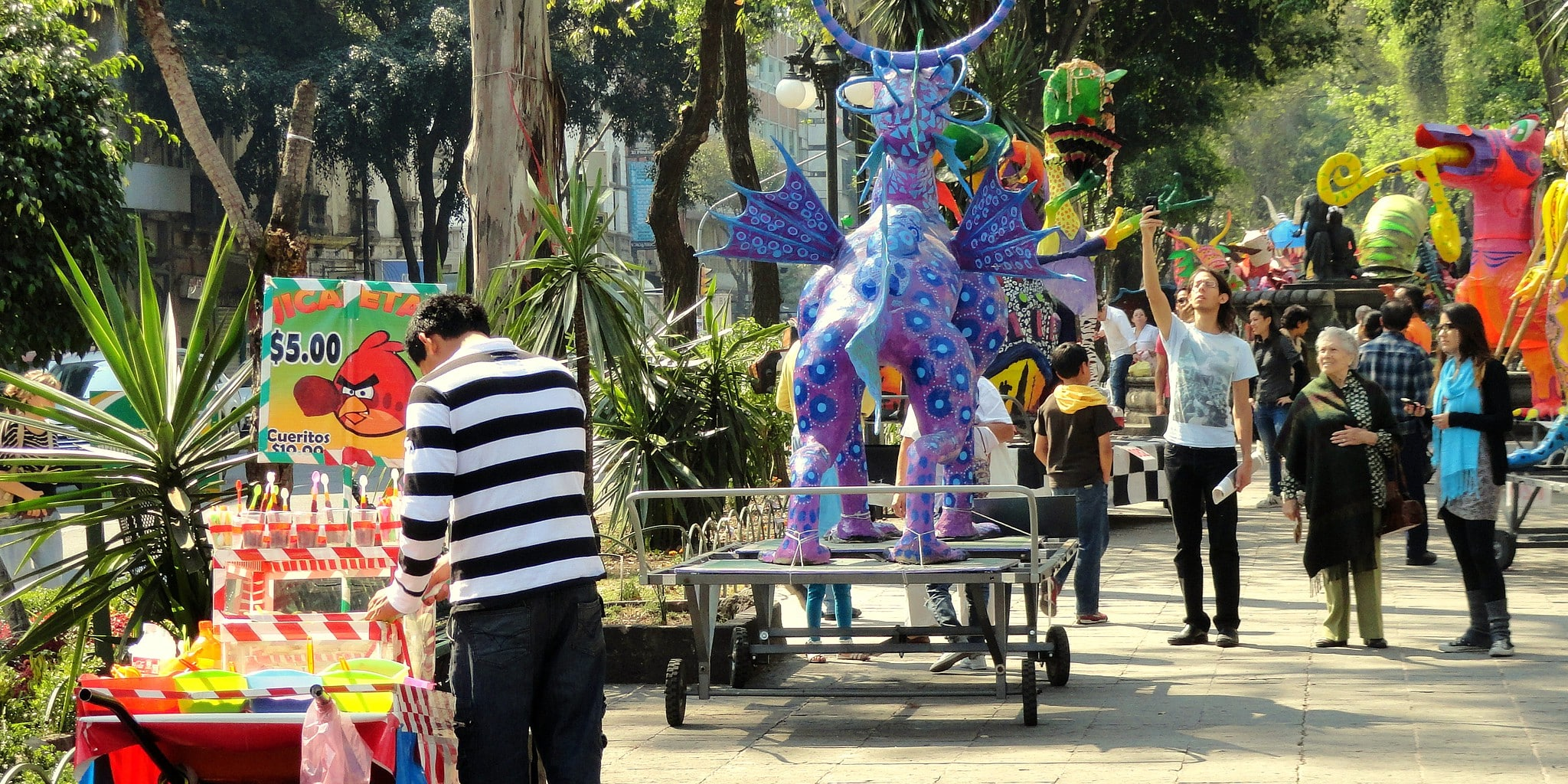 Colorful Roma is one of the best neighborhoods in Mexico City