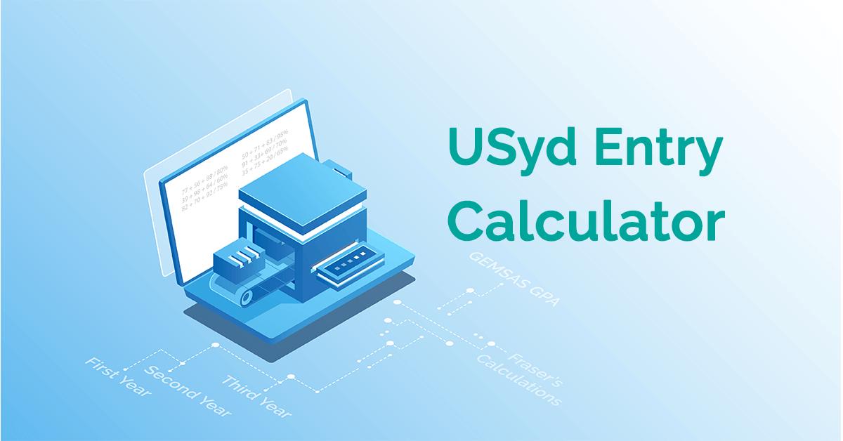 usyd entry calculator