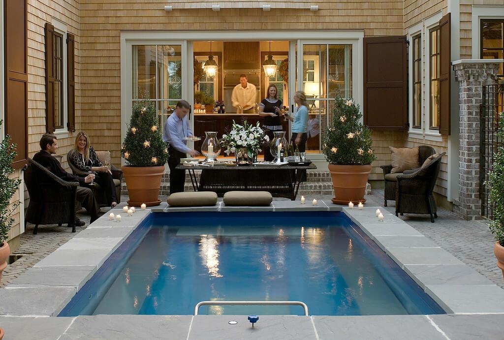 coastal cottage endless pools in coastal living