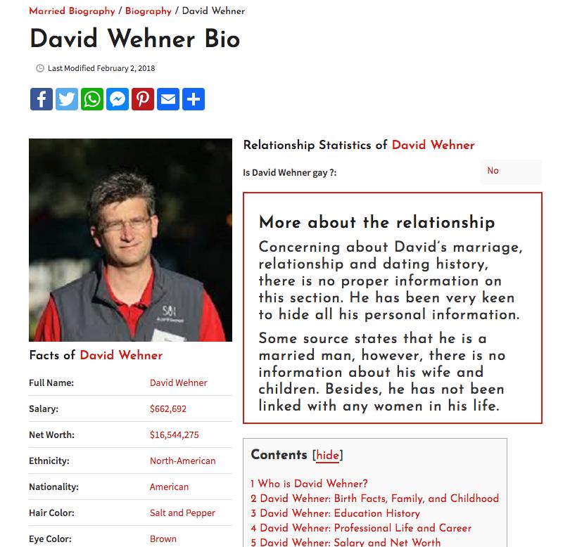 david wehner