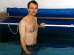 Joe uses his Endless Pool for aquatic therapy for his Rheumatoid Arthritis