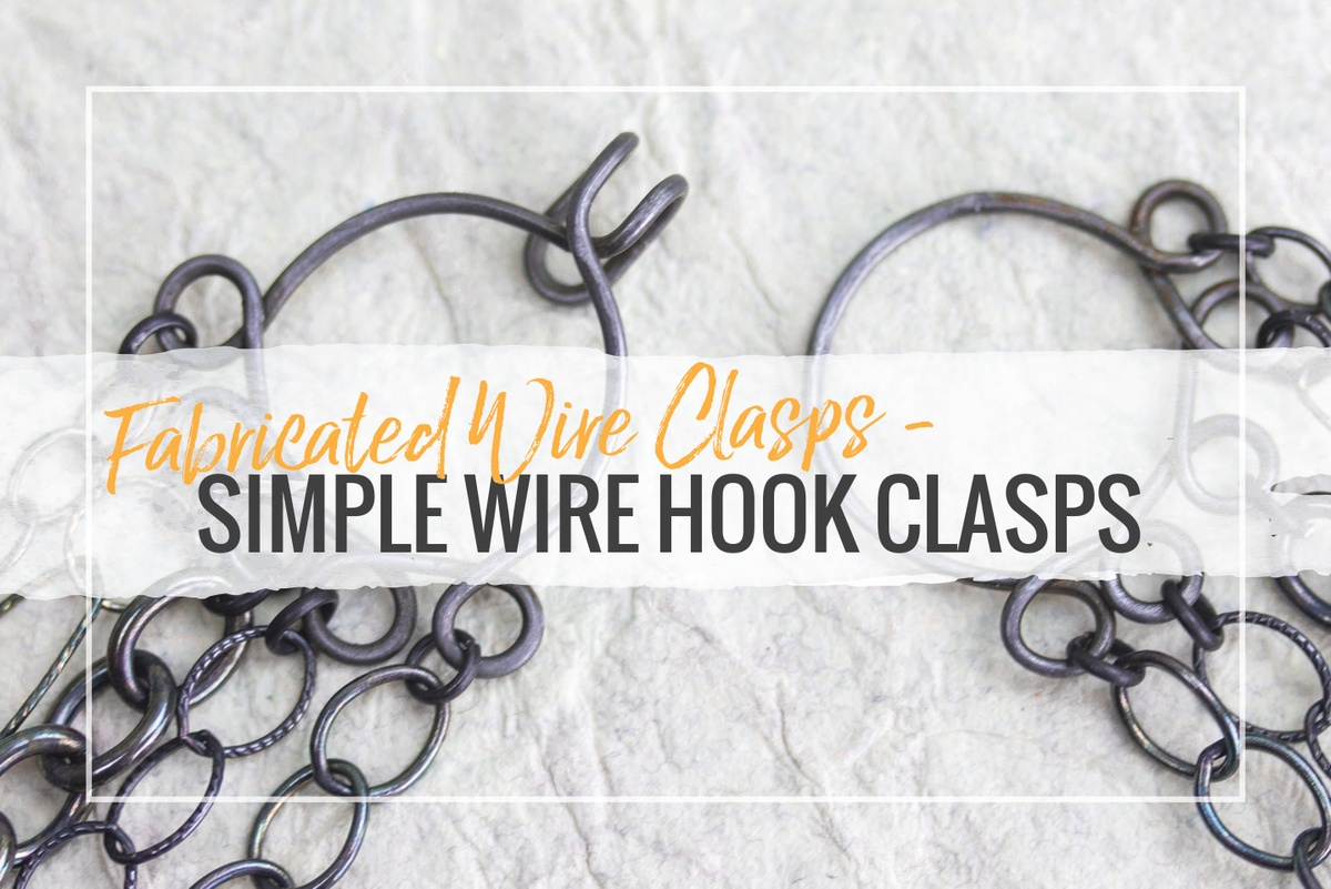 Learn how to create simple s-hook clasps with our step-by-step guide & video.