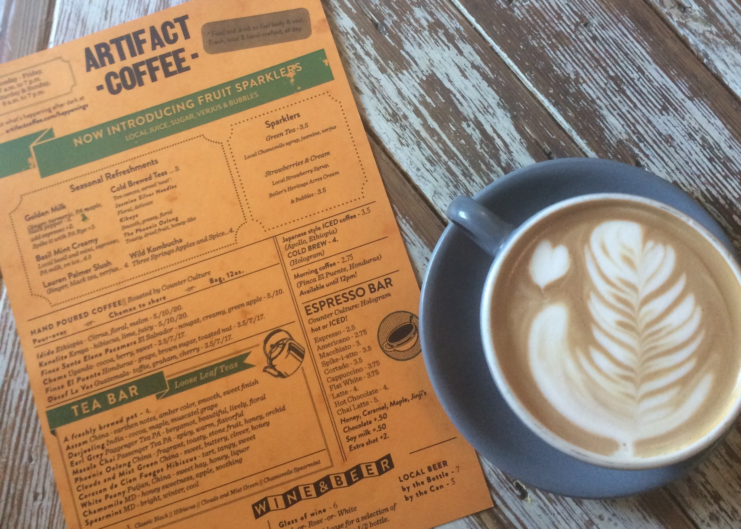 Image of 15 Coffee Shops To Get Your Caffeine Fix in Baltimore