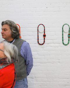 Art installation at NYCJW