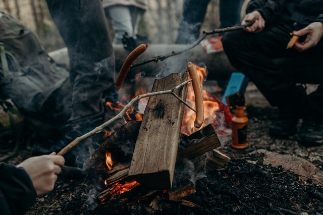 team building camping ideas