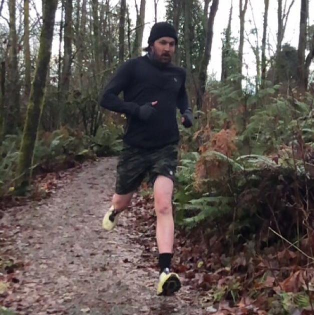 photo of runner