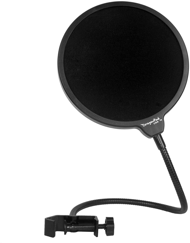 pop filter for capturing audiobook narration