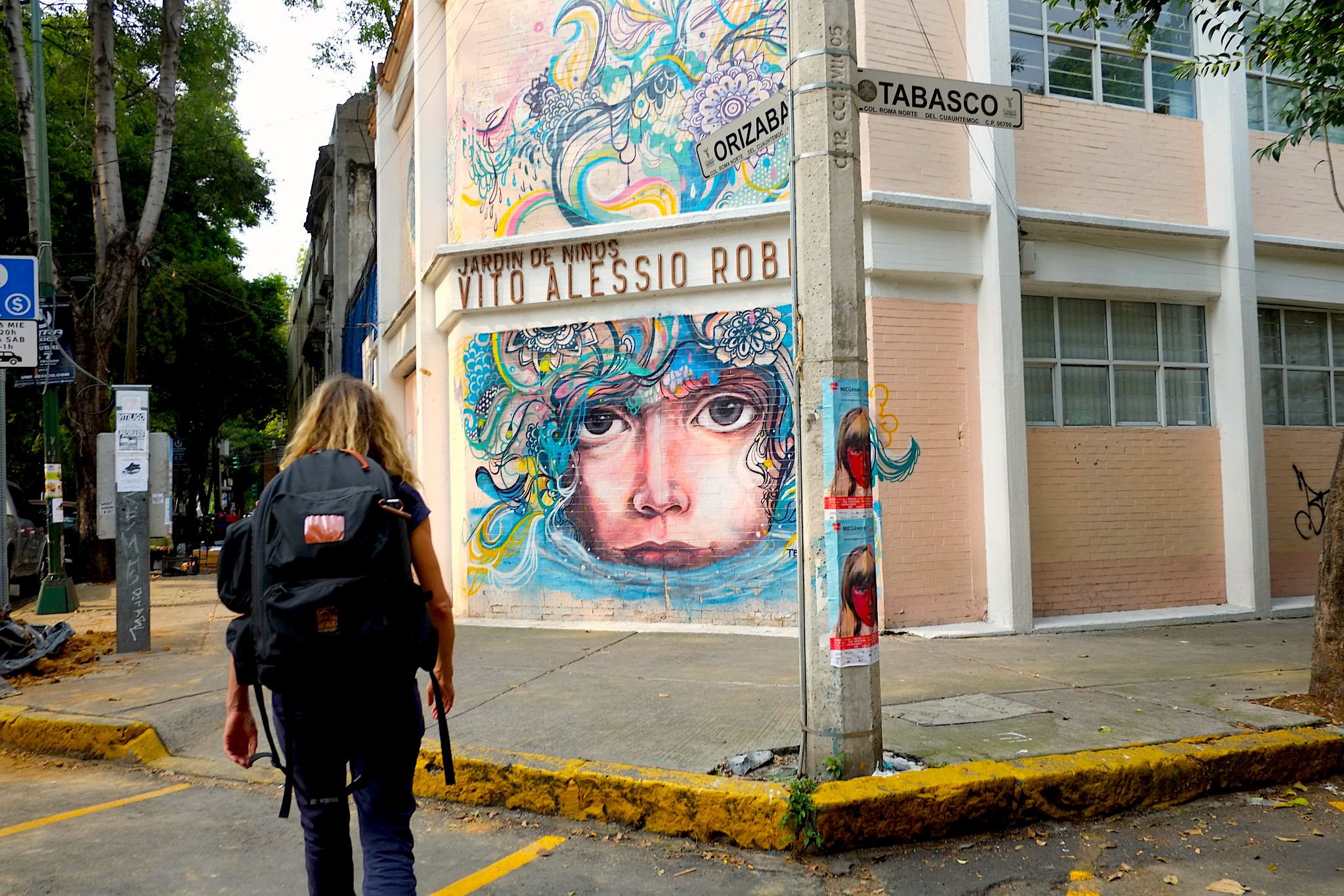 Condesa Graffiti Best Places to Visit in Mexico city neighborhood hipster