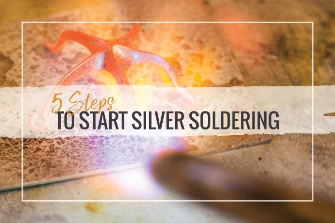 Learn to start silver soldering today! We've put together this step by step tutorial and list of jewelry soldering supplies & tools to get you started.