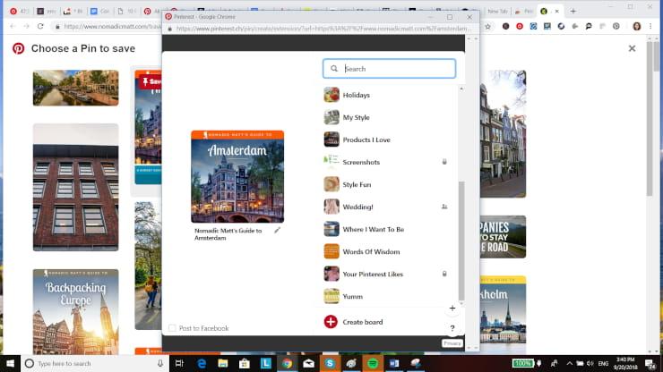 Pinterest Marketing Save to Board