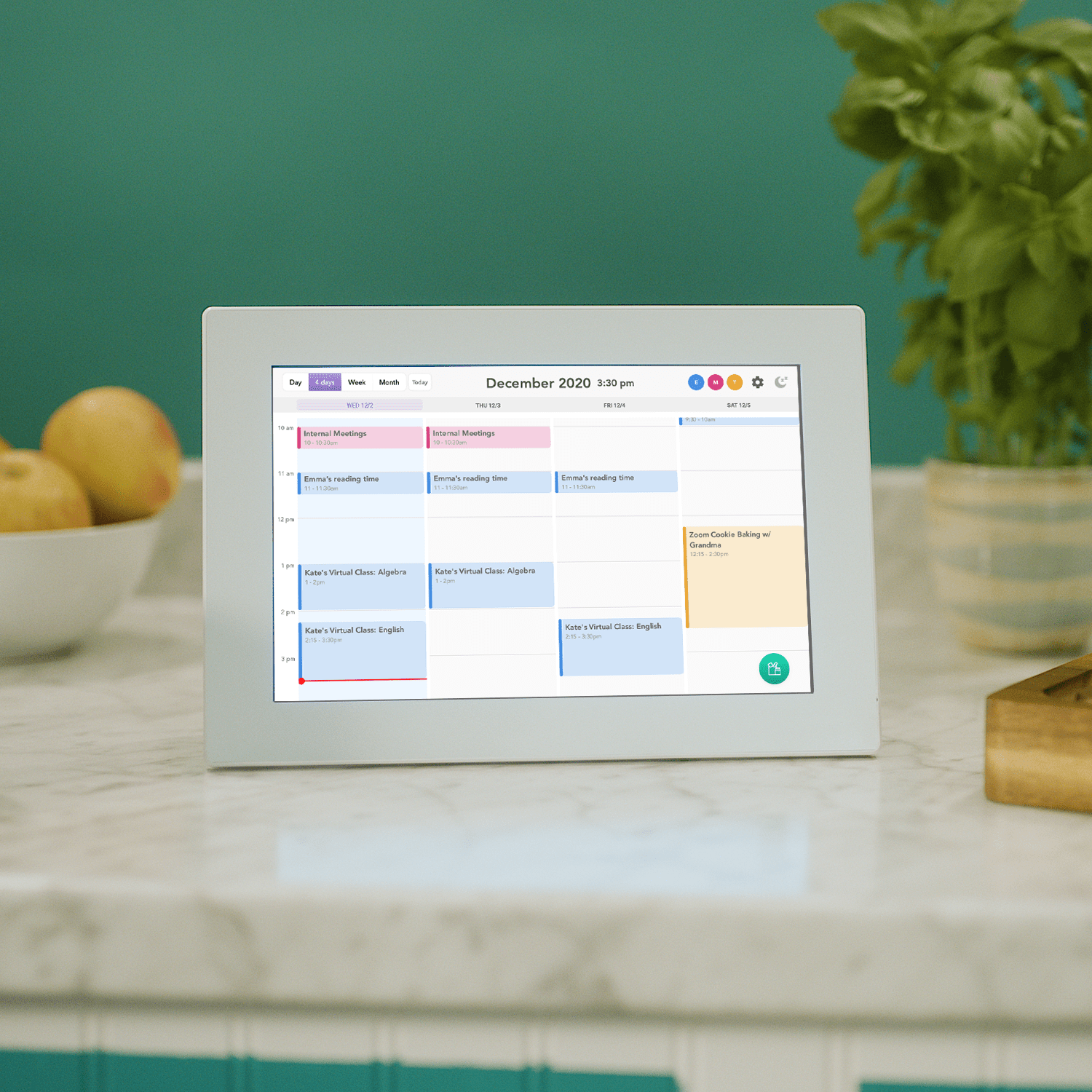 Meet The Simplest Way To Display Your Family Calendar