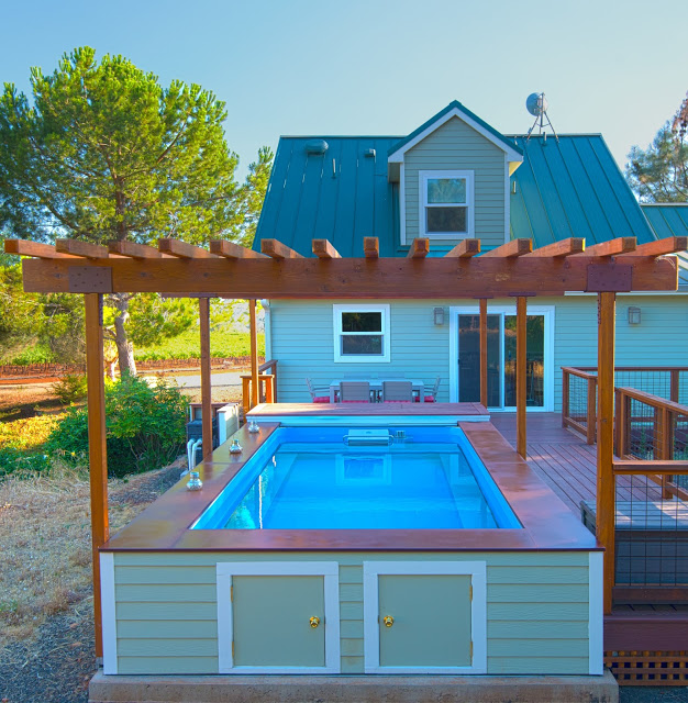 An Original Endless Pool with custom sizing in Northern California