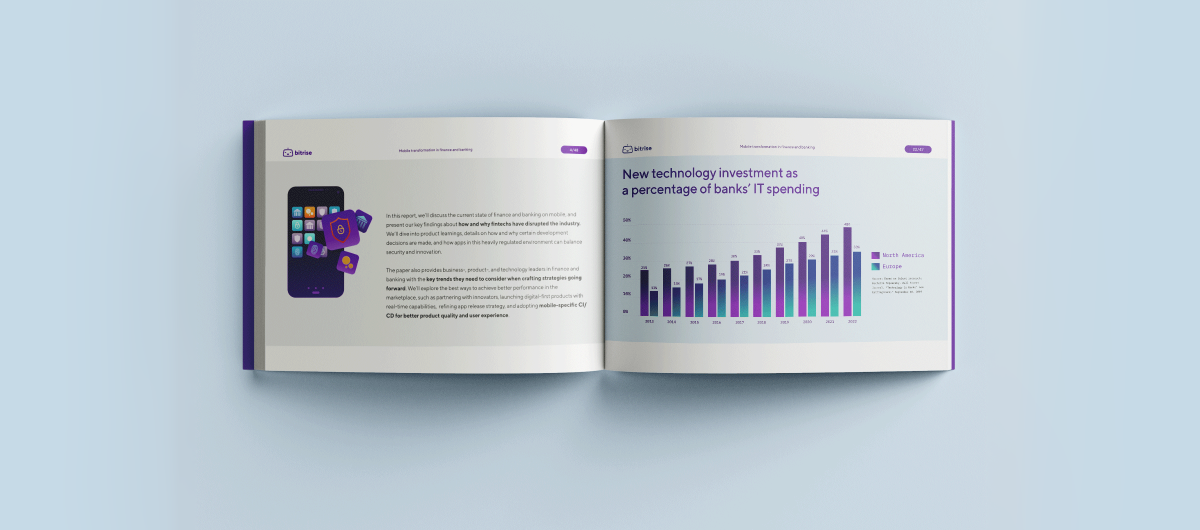 Report: Digital transformation in finance and banking