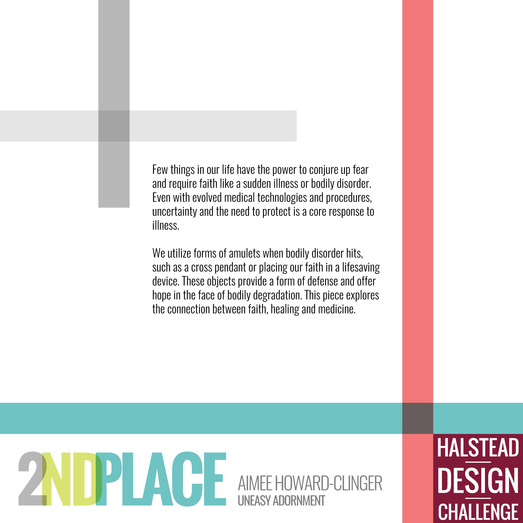 HDC 2020 2nd Place Aimee Howard-Clinger Letter to the Wearer