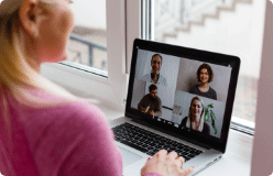 High quality video conferencing
