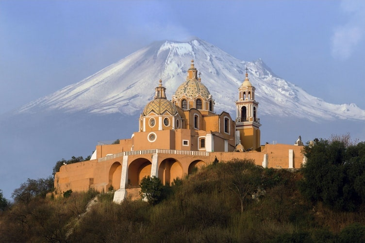 Use your 3 days in Mexico City to go on some epic day trips, like to nearby Cholula