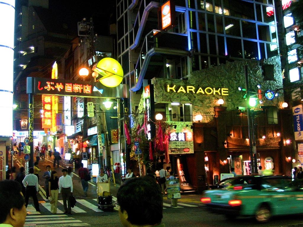 Karaoke in Tokyo Japan