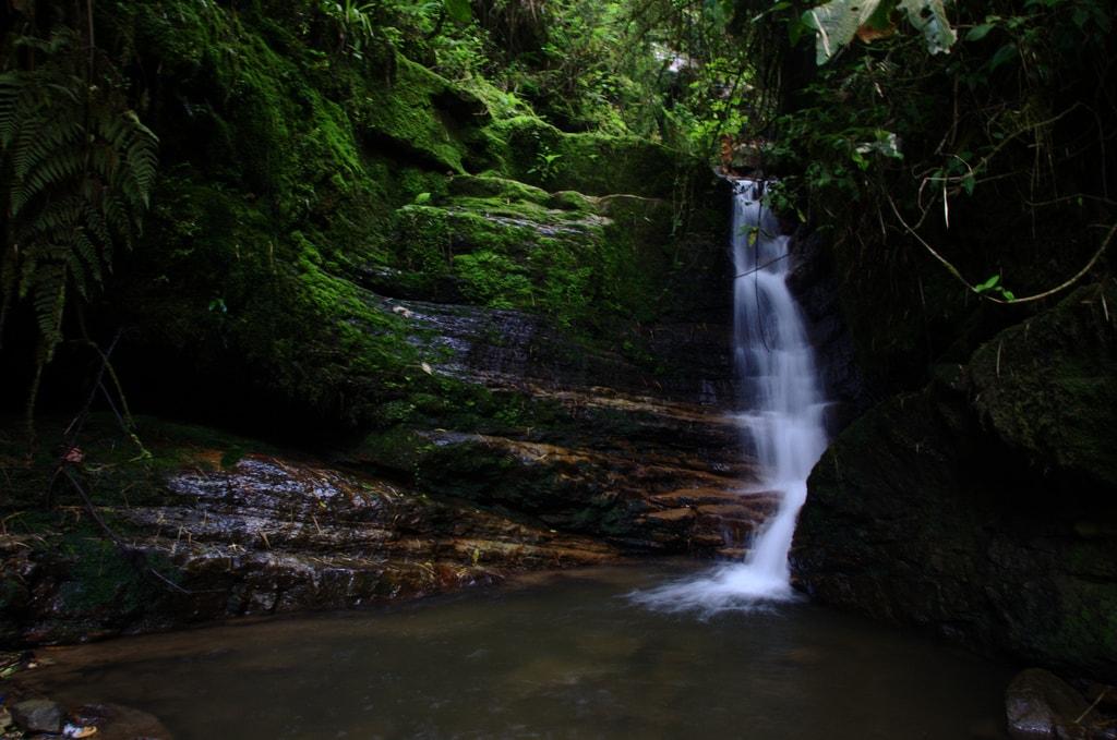 La Chorrera hiking Colombia