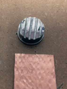 texturing hammer; pattern 3